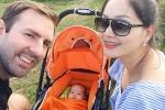 Hạnh phúc ngọt ngào bên chồng Tây cao 2m và con gái đáng yêu của Diệu phim 'Cả một đời ân oán'
