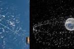 Rác vũ trụ những mảnh vỡ trôi nổi trong không gian, hiểm họa của Trái đất trong tương lai