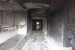 Ảnh: Hiện trường hoang tàn sau cháy khủng khiếp chung cư cao cấp ở quận 8 TP.HCM