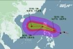 Tin mới nhất cơn bão số 7 Sarika