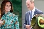 Cậu bé 4 tuổi tặng Hoàng tử William quả bơ để chữa nghén cho vợ