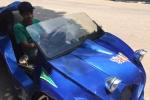 Clip: 'Siêu xe 3 bánh' tự chế chạy bon bon trên đường làng