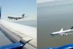 Hạ cánh cùng lúc, 2 máy bay suýt đâm nhau trên trời