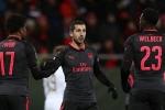 Arsenal đại thắng ở Europa League trong đêm giao thừa