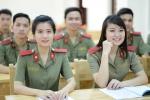 Học viện An ninh nhân dân chỉ tuyển 22 thí sinh nữ