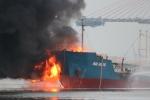 Tại sao tàu cháy ở Hải Phòng chở xăng A92?