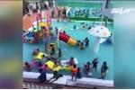 Bé trai 9 tuổi đuối nước thương tâm ngay tại bể bơi đông người