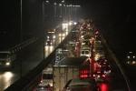 Tai nạn liên tiếp, cao tốc Pháp Vân - Cầu Giẽ ùn tắc từ chiều đến đêm