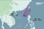 Bão số 5 xuất hiện trên Biển Đông, hướng về Trung Quốc