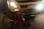 Container tông xe máy, 2 thanh niên thương vong