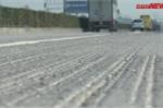 Clip: Cận cảnh Quốc lộ 5 lồi lõm, lượn sóng khiến tài xế kinh hãi