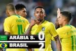 Video: Brazil thắng nhẹ nhàng đội bóng châu Á