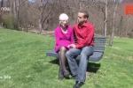 Xôn xao chuyện tình giữa cụ bà 91 tuổi và bạn trai 31 tuổi