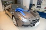 A hau Thuy Van mua Maserati Quattroporte gia gan 8 ty dong hinh anh 3