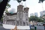 Ngắm Sài Gòn khác lạ trước 1975 qua nét vẽ sinh viên