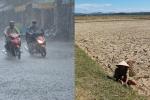 Bắc Bộ mưa lớn, Trung Bộ vẫn nắng nóng trên 38 độ C