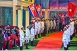 Video trực tiếp: Tiếp đón Chủ tịch Triều Tiên Kim Jong-un tại ga Đồng Đăng, Lạng Sơn