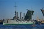 Ảnh: Tuần dương hạm Rạng Đông, chiến hạm nổ phát pháo báo hiệu thời đại mới