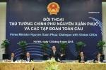 Lãnh đạo các tập đoàn toàn cầu cam kết đầu tư lâu dài ở Việt Nam