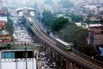 Video: Cận cảnh 13 đầu tàu đường sắt Cát Linh- Hà Đông chạy thử trên đường ray toàn hệ thống