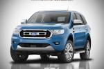 Ra mắt Ford Endeavour tiết kiệm nhiên liệu