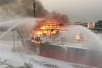 Thưởng 500 triệu đồng cho lực lượng chữa cháy tàu chở 2.000 tấn dầu ở Hải Phòng