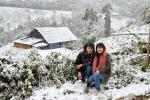 Cơ hội cuối ngắm tuyết đầu năm 2018