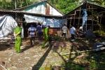 Nổ đầu đạn, 3 người chết, 2 người bị thương ở Cà Mau