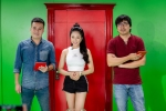 'Hot girl World Cup' Tram Anh lam MC cung 'Cu Trong Xoay' hinh anh 3