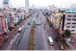 Clip: Rào 300m 'đường cong mềm mại' ở Hà Nội để thi công vành đai 2