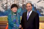 Thủ tướng tiếp Hội Hữu nghị đối ngoại nhân dân Trung Quốc và Hội Hữu nghị Trung-Việt