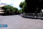 Clip: Hà Nội vượt ngưỡng 40°C, nhiều con phố vắng tanh bóng người