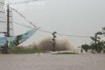 Hình ảnh Hải Phòng tan hoang trong bão dữ