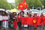 Người Việt tại Đức kêu gọi Quốc hội Đức ngăn chặn Trung Quốc xâm chiếm Biển Đông