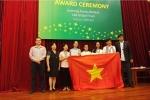 Học sinh Việt giành huy chương Vàng cuộc thi nghiên cứu khoa học đa quốc gia