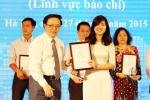 Báo điện tử VTC News giành giải thông tin đối ngoại toàn quốc