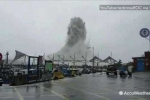 Siêu bão Meranti điên cuồng càn quét: Những hình ảnh khủng khiếp không thể tin nổi