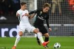 Trực tiếp Tottenham vs Real Madrid, Link xem cup C1 Châu Âu 2017 hôm nay