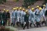 Giải cứu đội bóng Thái Lan ngày thứ 3: Chạy đua với thời gian vì mưa lớn
