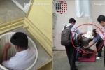Video: Ống thoát hiểm thông minh giúp cả trăm người thoát nạn khi cháy nhà cao tầng