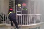 Cháy khách sạn ở trung tâm Sài Gòn, hai người bị ngạt khói