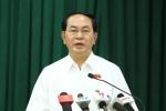 Chủ tịch nước: 'Nếu để chiến tranh mạng xảy ra hậu quả sẽ khôn lường'