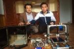 Học sinh Hà Tĩnh chế tạo máy tạo mẫu công nghiệp