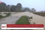 Video: Nước sông dâng nhanh, cô lập nhiều tuyến đường, nhà dân ở Hà Tĩnh