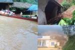 Ảnh hưởng bão số 4 ở Thanh Hoá: Sạt lở đất vùi lấp nhà dân, 1 người thiệt mạng