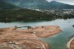 Xử phạt công ty đổ đất lấn sông Cu Đê ở Đà Nẵng 40 triệu đồng