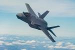 Tiêm kích F-35 gặp sự cố, đỗ bằng mũi trên đường băng sau khi hạ cánh khẩn cấp
