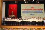 Khen thưởng 55 học sinh đạt thành tích cao tại các kỳ thi Toán quốc tế năm 2017