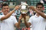 Lý Hoàng Nam vô địch đôi giải trẻ Wimbledon 2015