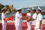 Lễ thượng cờ hai tàu ngầm Hải Phòng và Khánh Hòa